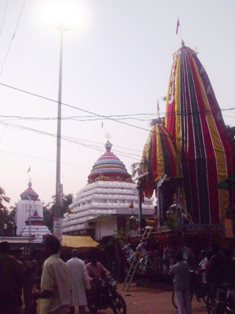 Rath, infront of the Temple